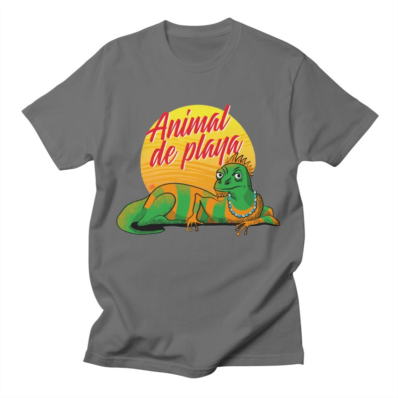 Beach animal Men's T-Shirt by Sofimartina's Artist Shop