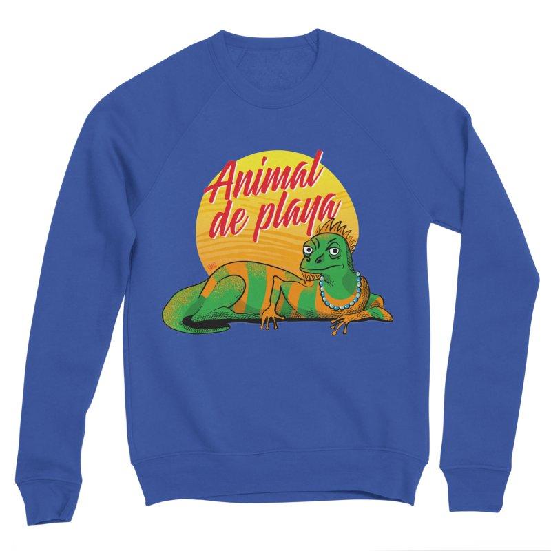 Beach animal Men's Sweatshirt by Sofimartina's Artist Shop