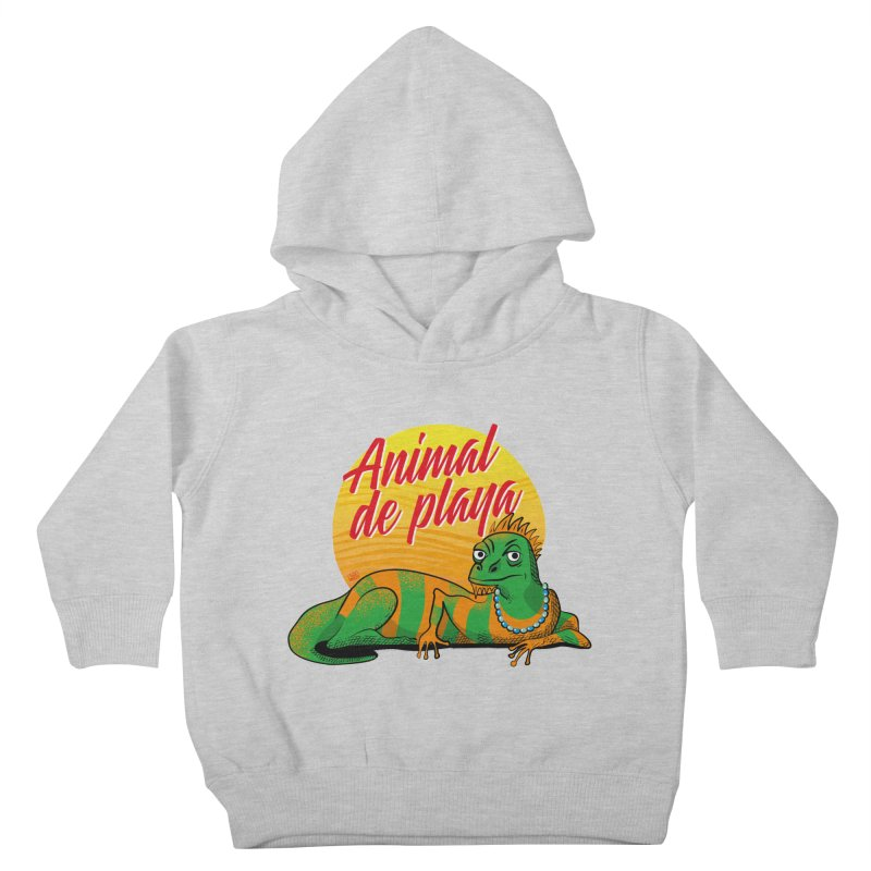 Beach animal Kids Toddler Pullover Hoody by Sofimartina's Artist Shop