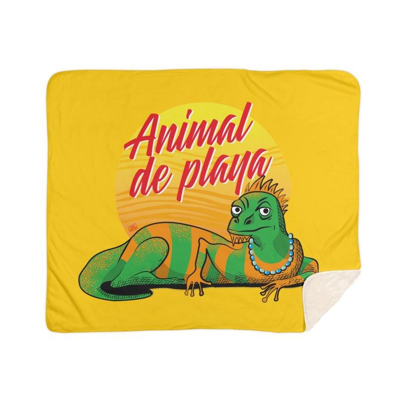 Beach animal Home Blanket by Sofimartina's Artist Shop