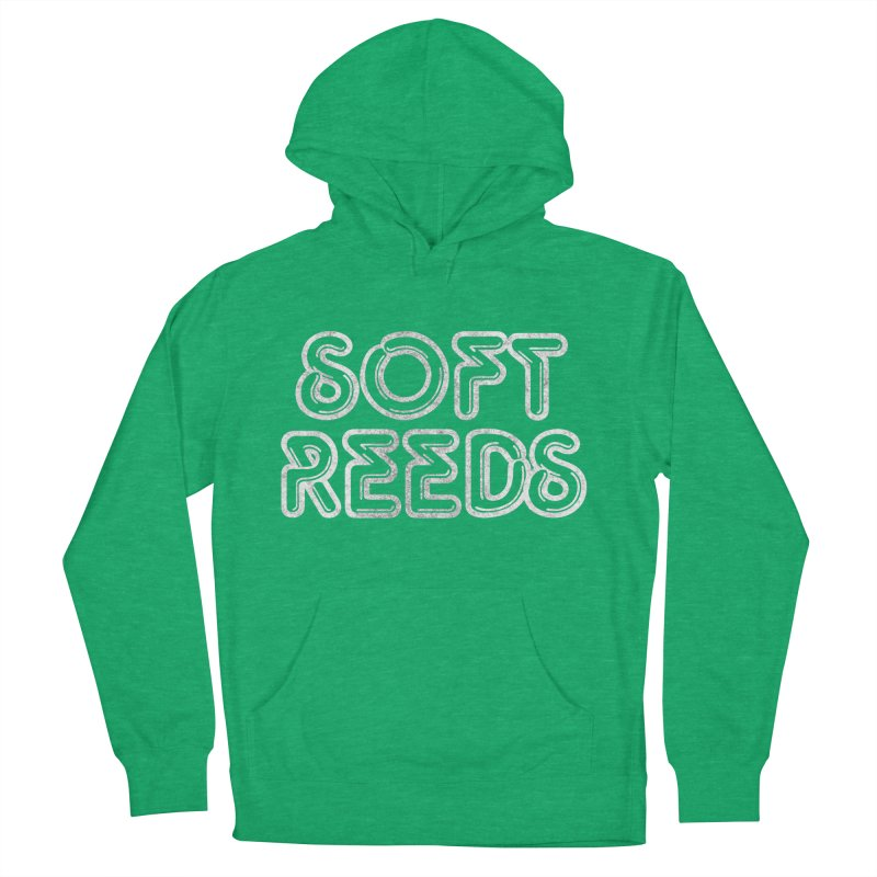 SOFT-1 Men's French Terry Pullover Hoody by softreeds's Artist Shop