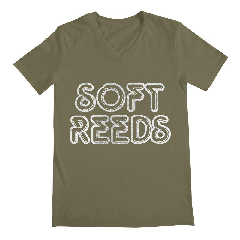SOFT-1 Men's Regular V-Neck by softreeds's Artist Shop