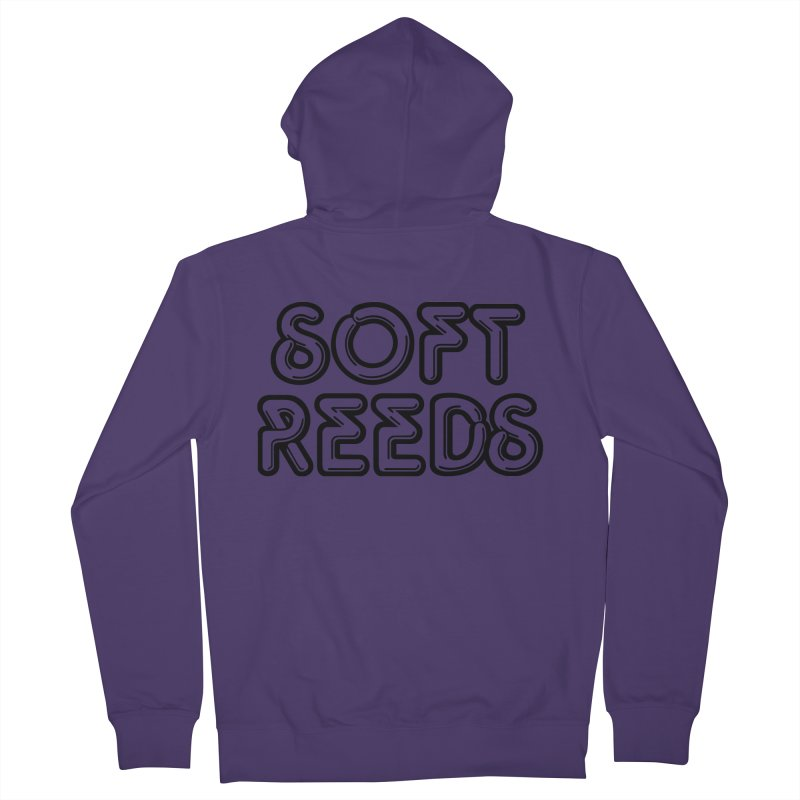 SOFT-2 Women's French Terry Zip-Up Hoody by softreeds's Artist Shop