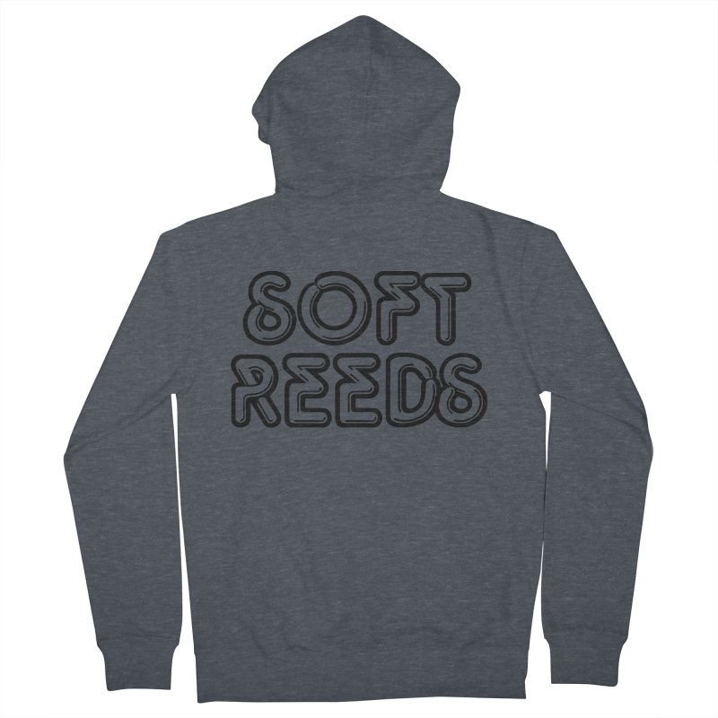 SOFT-2 Men's Zip-Up Hoody by softreeds's Artist Shop