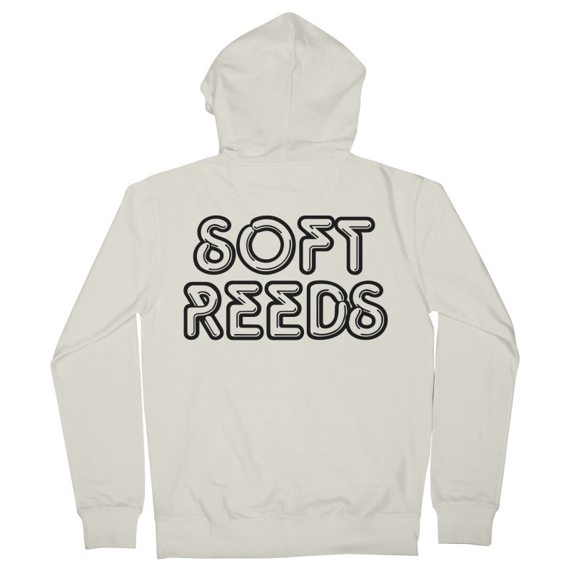 SOFT-2 Men's French Terry Zip-Up Hoody by softreeds's Artist Shop