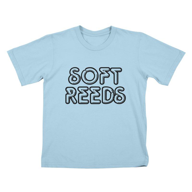 SOFT-2 Kids T-Shirt by softreeds's Artist Shop