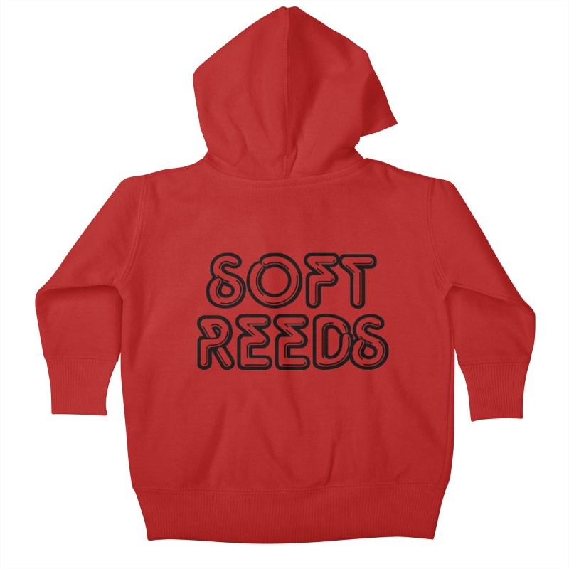 SOFT-2 Kids Baby Zip-Up Hoody by softreeds's Artist Shop
