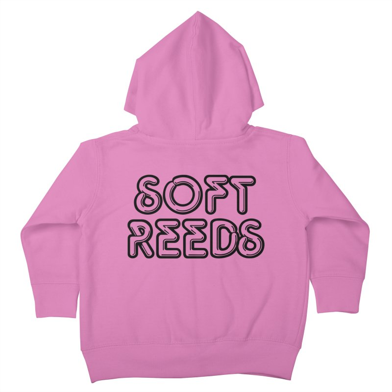 SOFT-2 Kids Toddler Zip-Up Hoody by softreeds's Artist Shop