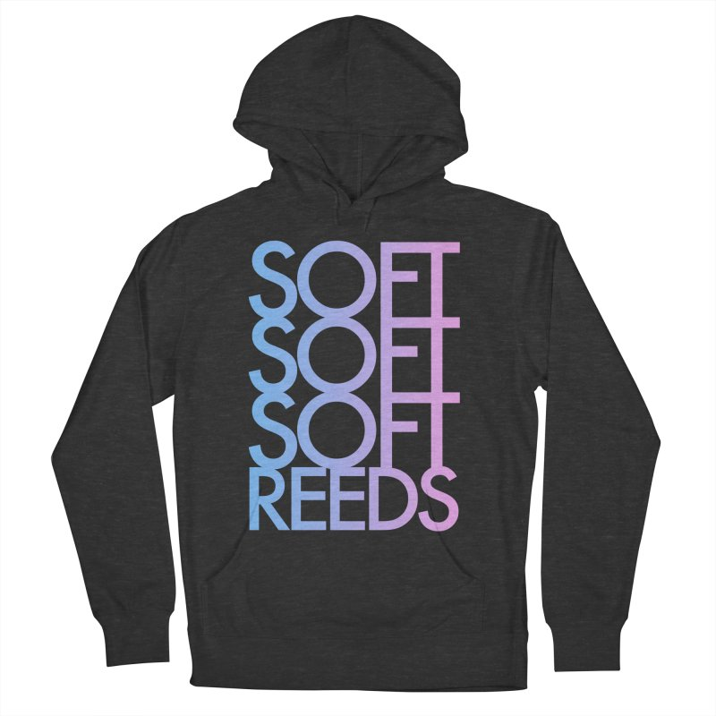 SOFT-3 Women's French Terry Pullover Hoody by softreeds's Artist Shop
