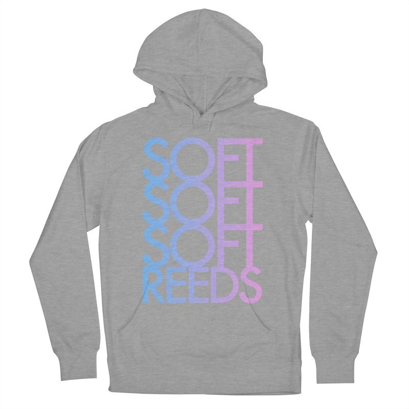 SOFT-3 Men's French Terry Pullover Hoody by softreeds's Artist Shop