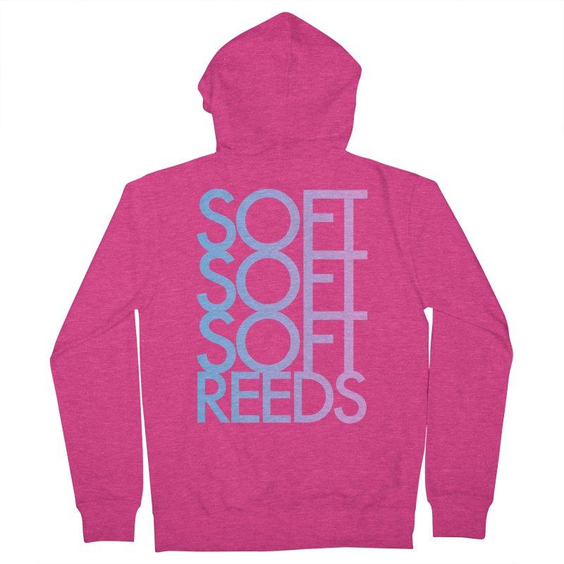 SOFT-3 Women's Zip-Up Hoody by softreeds's Artist Shop