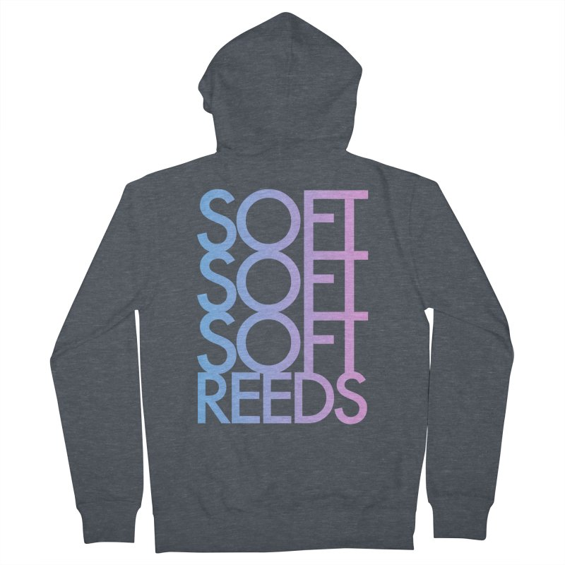 SOFT-3 Men's Zip-Up Hoody by softreeds's Artist Shop