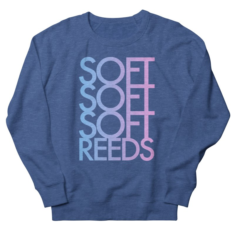 SOFT-3 Men's French Terry Sweatshirt by softreeds's Artist Shop