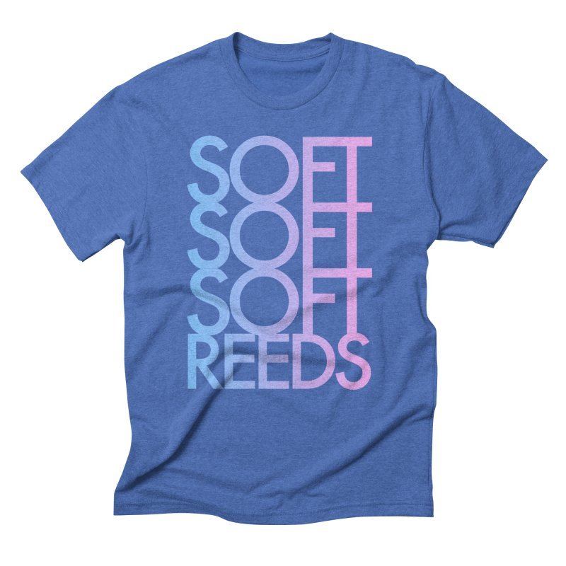 SOFT-3 Men's T-Shirt by softreeds's Artist Shop