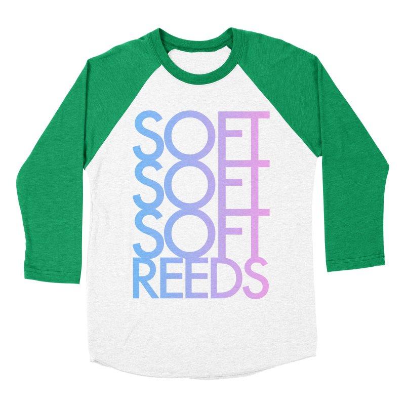 SOFT-3 Women's Baseball Triblend Longsleeve T-Shirt by softreeds's Artist Shop