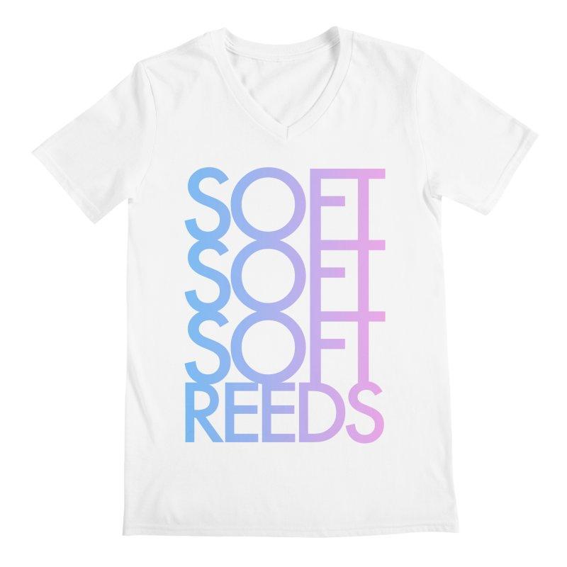 SOFT-3 Men's Regular V-Neck by softreeds's Artist Shop