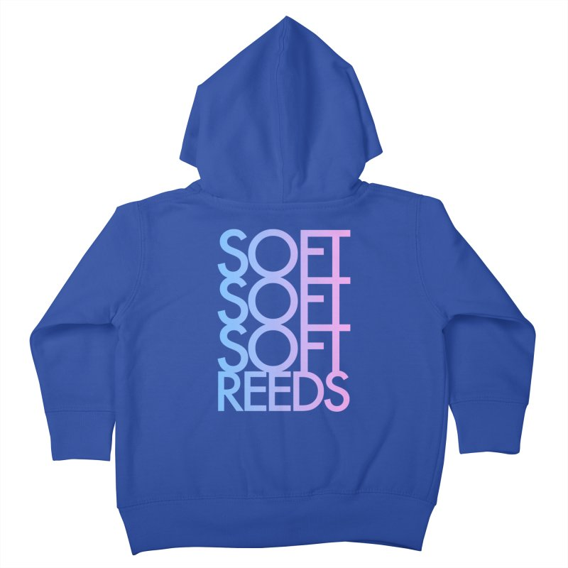 SOFT-3 Kids Toddler Zip-Up Hoody by softreeds's Artist Shop