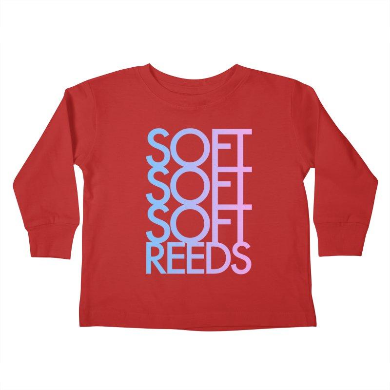 SOFT-3 Kids Toddler Longsleeve T-Shirt by softreeds's Artist Shop