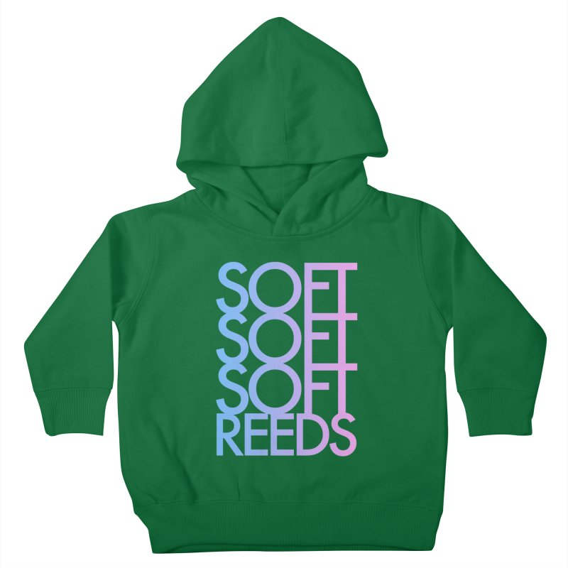 SOFT-3 Kids Toddler Pullover Hoody by softreeds's Artist Shop