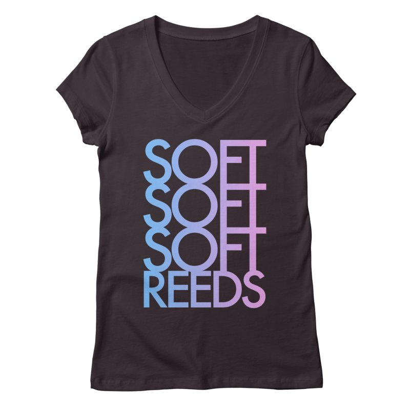 SOFT-3 Women's V-Neck by softreeds's Artist Shop