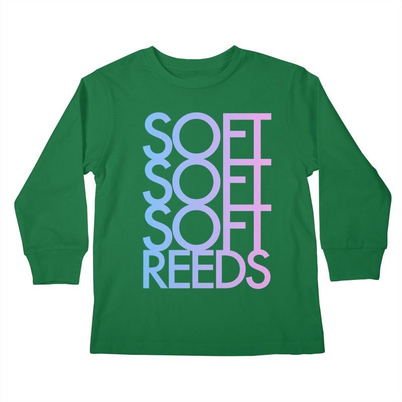SOFT-3 Kids Longsleeve T-Shirt by softreeds's Artist Shop