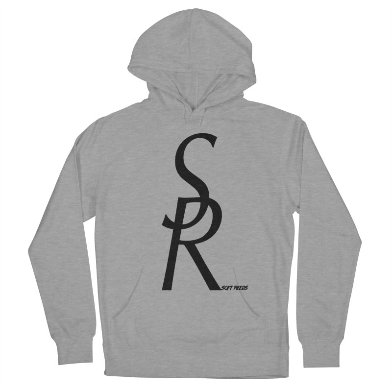 SOFT-4 Women's French Terry Pullover Hoody by softreeds's Artist Shop