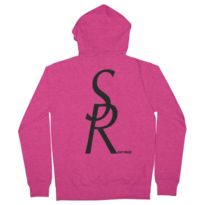 SOFT-4 Women's Zip-Up Hoody by softreeds's Artist Shop
