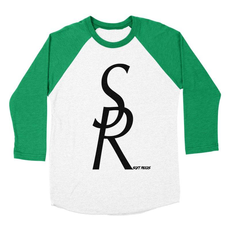SOFT-4 Women's Baseball Triblend Longsleeve T-Shirt by softreeds's Artist Shop