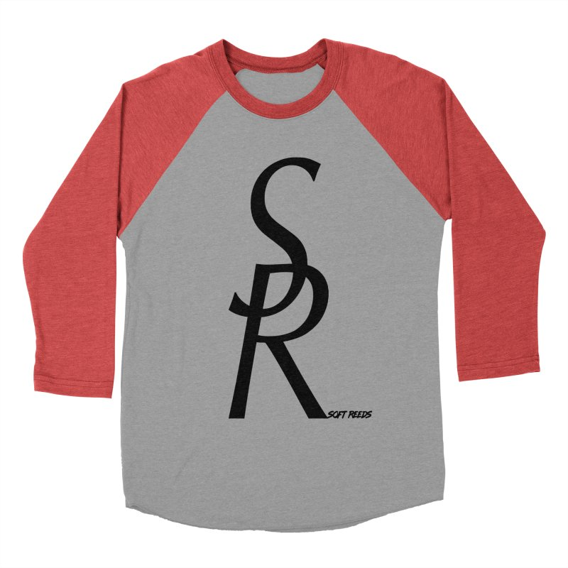 SOFT-4 Men's Baseball Triblend T-Shirt by softreeds's Artist Shop