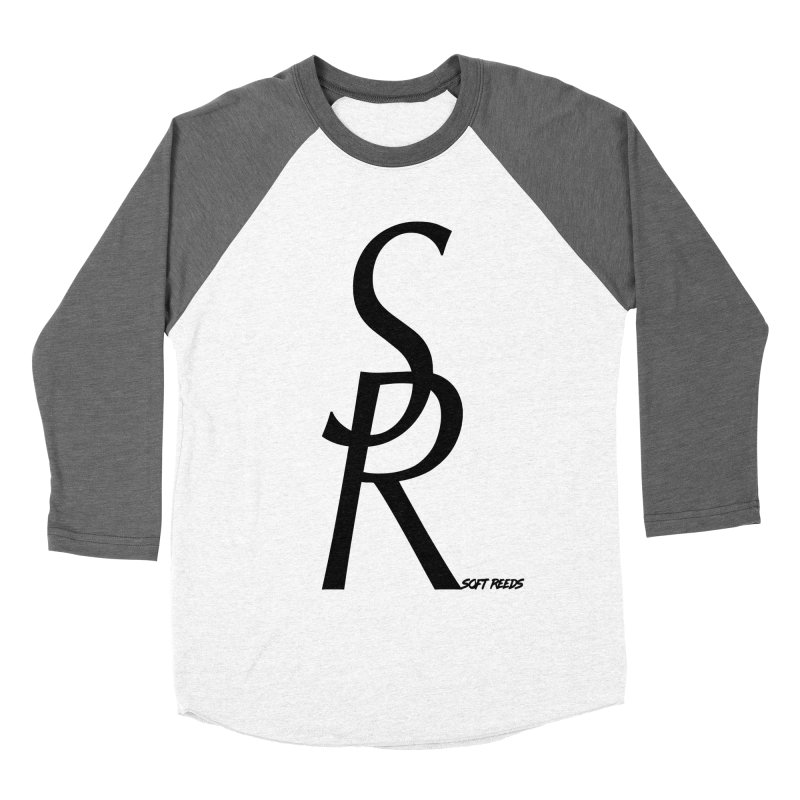 SOFT-4 Men's Baseball Triblend Longsleeve T-Shirt by softreeds's Artist Shop