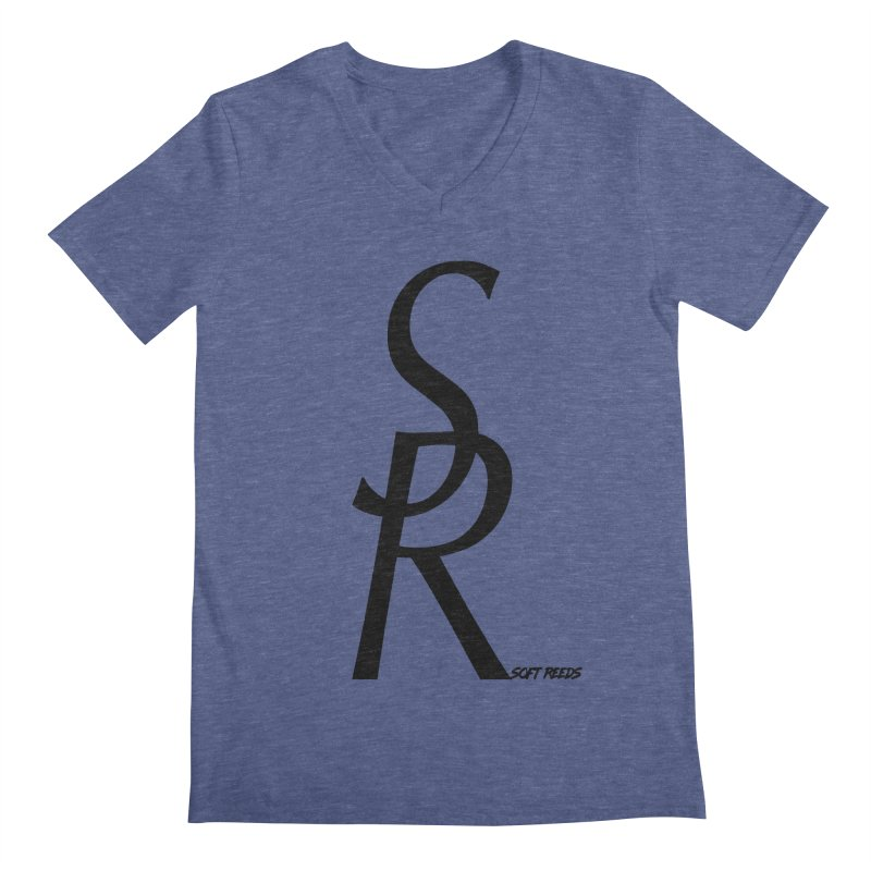 SOFT-4 Men's Regular V-Neck by softreeds's Artist Shop