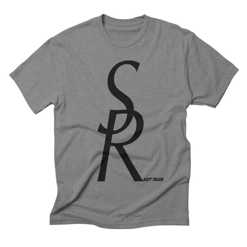 SOFT-4 in Men's Triblend T-shirt Grey Triblend by softreeds's Artist Shop