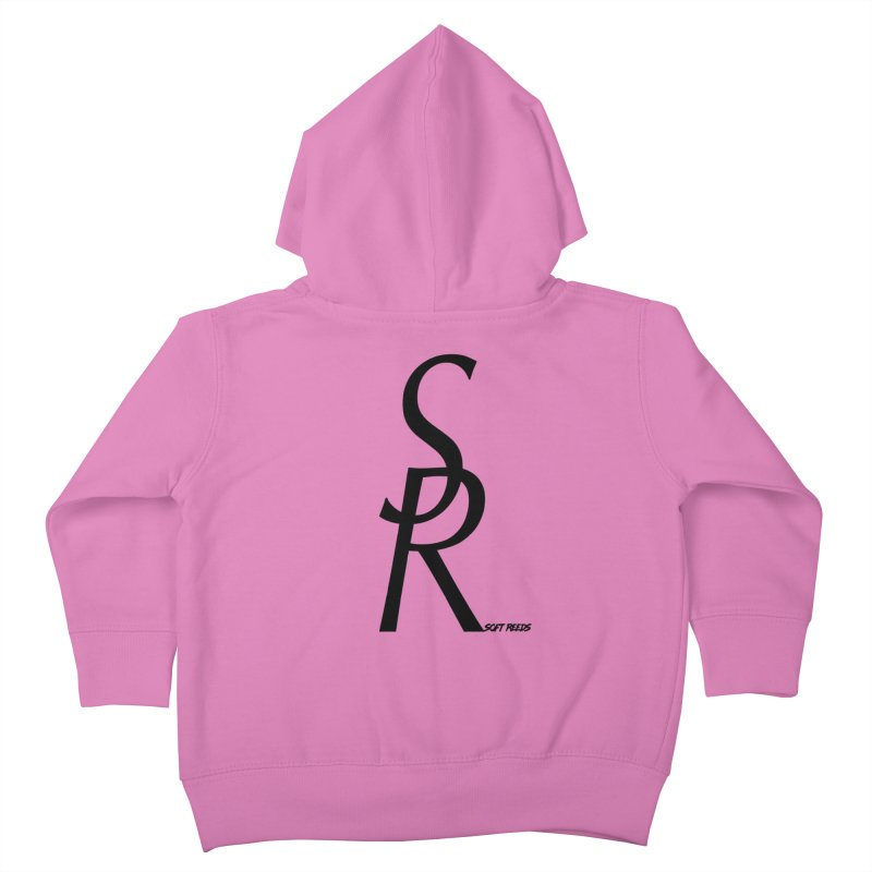 SOFT-4 Kids Toddler Zip-Up Hoody by softreeds's Artist Shop