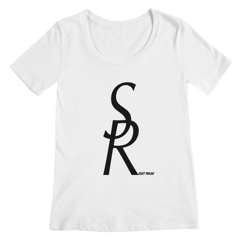 SOFT-4 Women's Scoopneck by softreeds's Artist Shop
