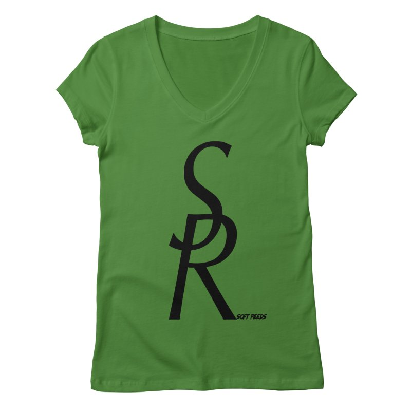 SOFT-4 Women's Regular V-Neck by softreeds's Artist Shop