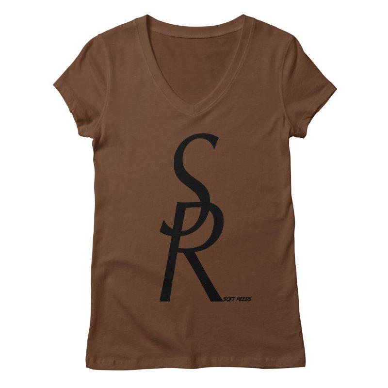 SOFT-4 Women's V-Neck by softreeds's Artist Shop