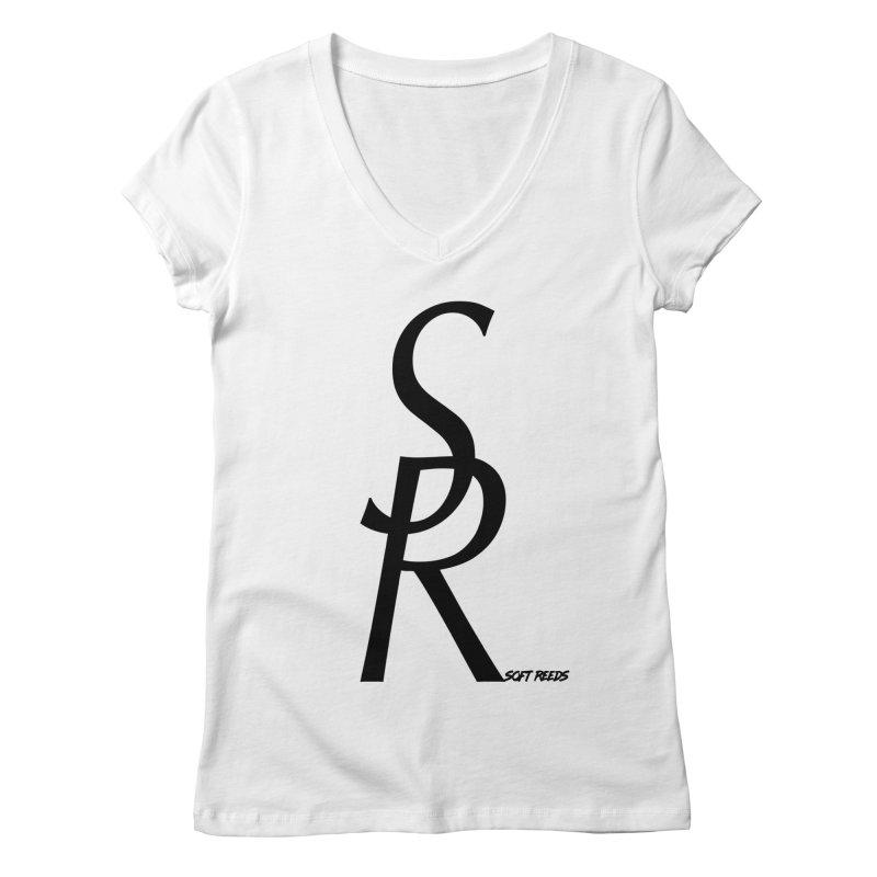 SOFT-4 Women's Regular V-Neck by softreeds's Artist Shop
