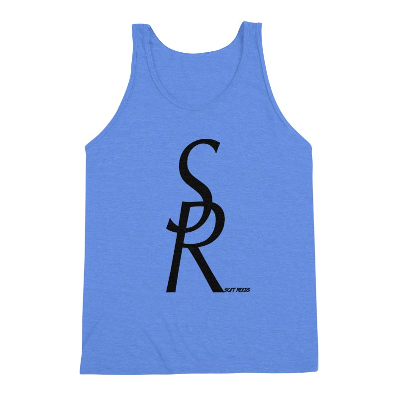SOFT-4 Men's Triblend Tank by softreeds's Artist Shop
