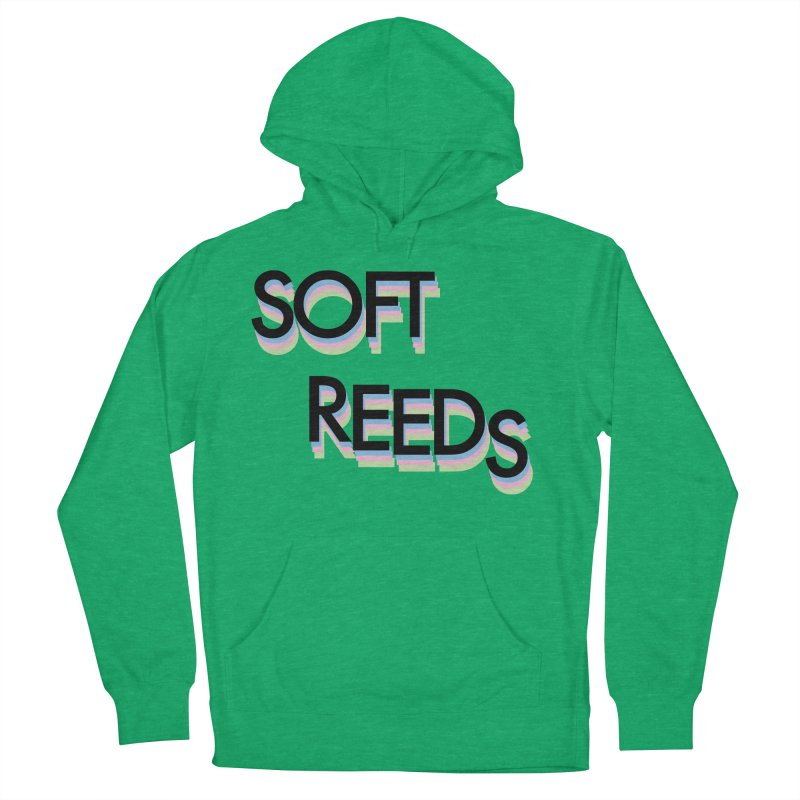 SOFT-5 Women's French Terry Pullover Hoody by softreeds's Artist Shop