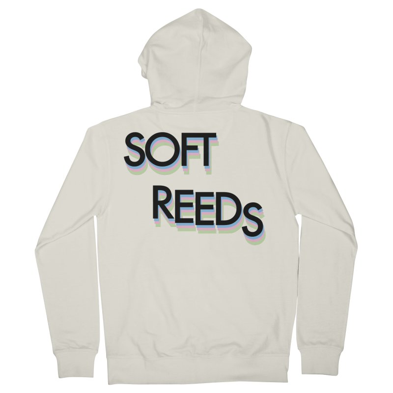 SOFT-5 Women's French Terry Zip-Up Hoody by softreeds's Artist Shop