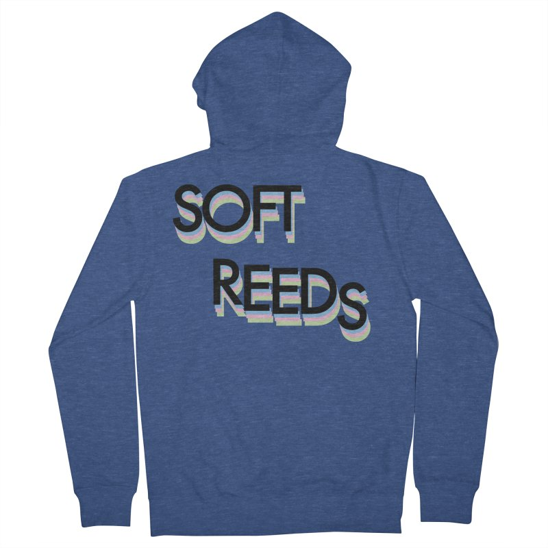 SOFT-5 Men's French Terry Zip-Up Hoody by softreeds's Artist Shop