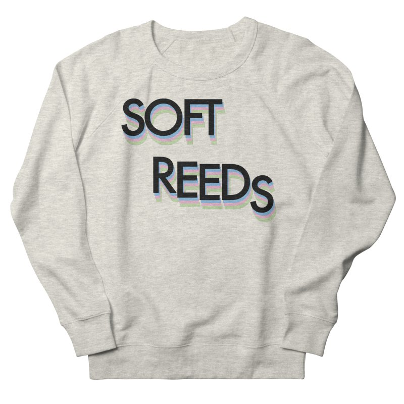 SOFT-5 Women's French Terry Sweatshirt by softreeds's Artist Shop