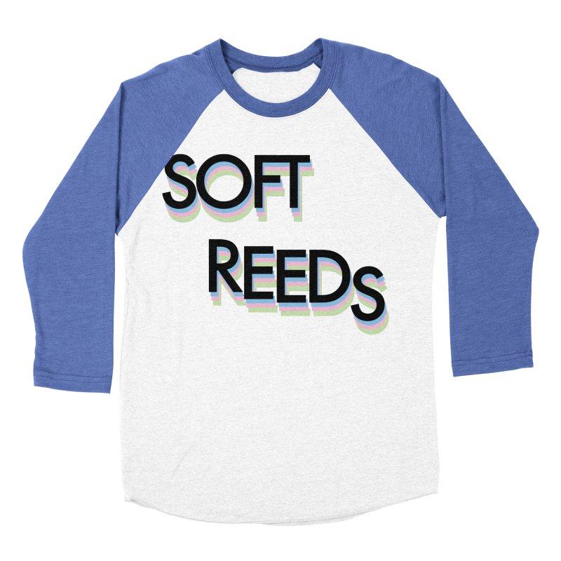 SOFT-5 Women's Baseball Triblend Longsleeve T-Shirt by softreeds's Artist Shop