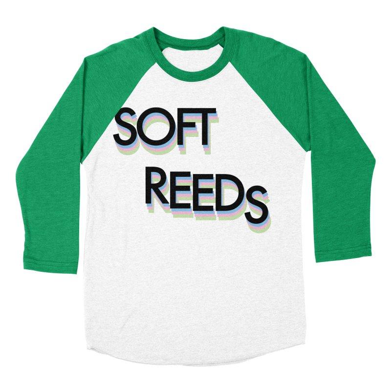 SOFT-5 Men's Baseball Triblend Longsleeve T-Shirt by softreeds's Artist Shop