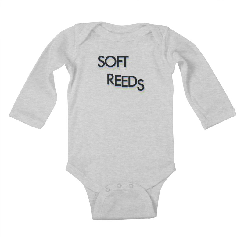 SOFT-5 Kids Baby Longsleeve Bodysuit by softreeds's Artist Shop