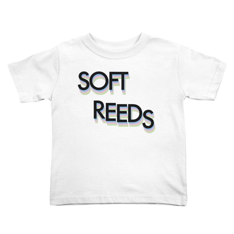 SOFT-5 Kids Toddler T-Shirt by softreeds's Artist Shop