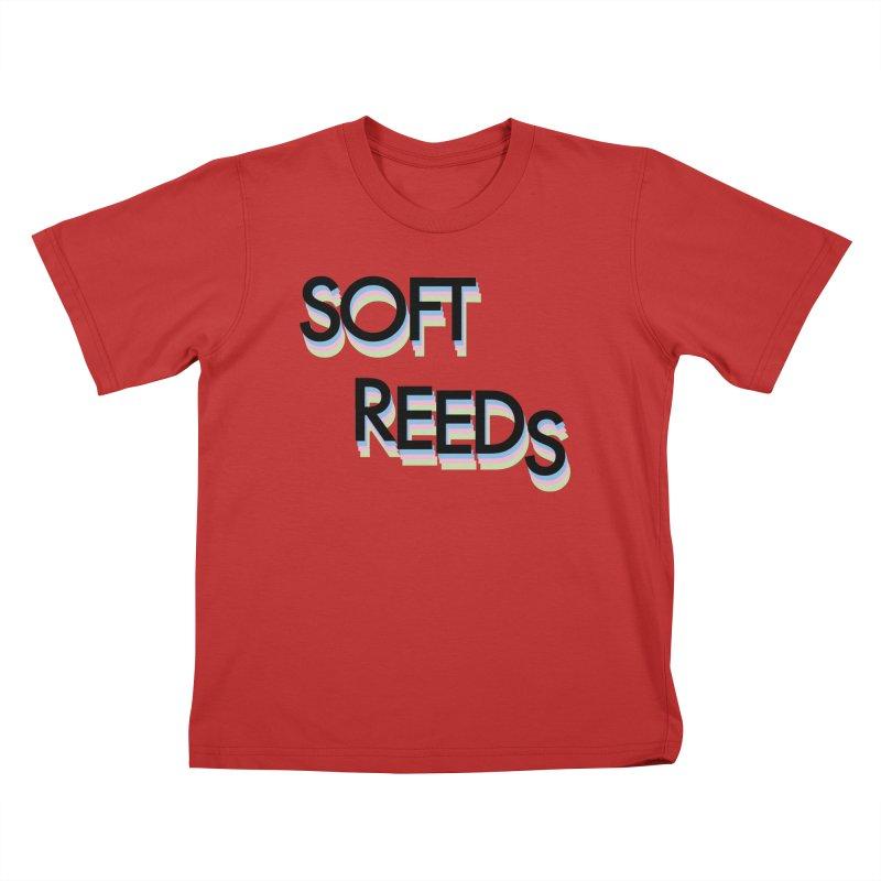 SOFT-5 Kids T-Shirt by softreeds's Artist Shop