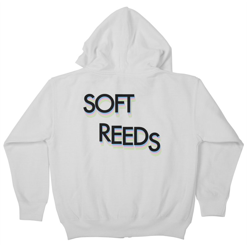 SOFT-5 Kids Zip-Up Hoody by softreeds's Artist Shop