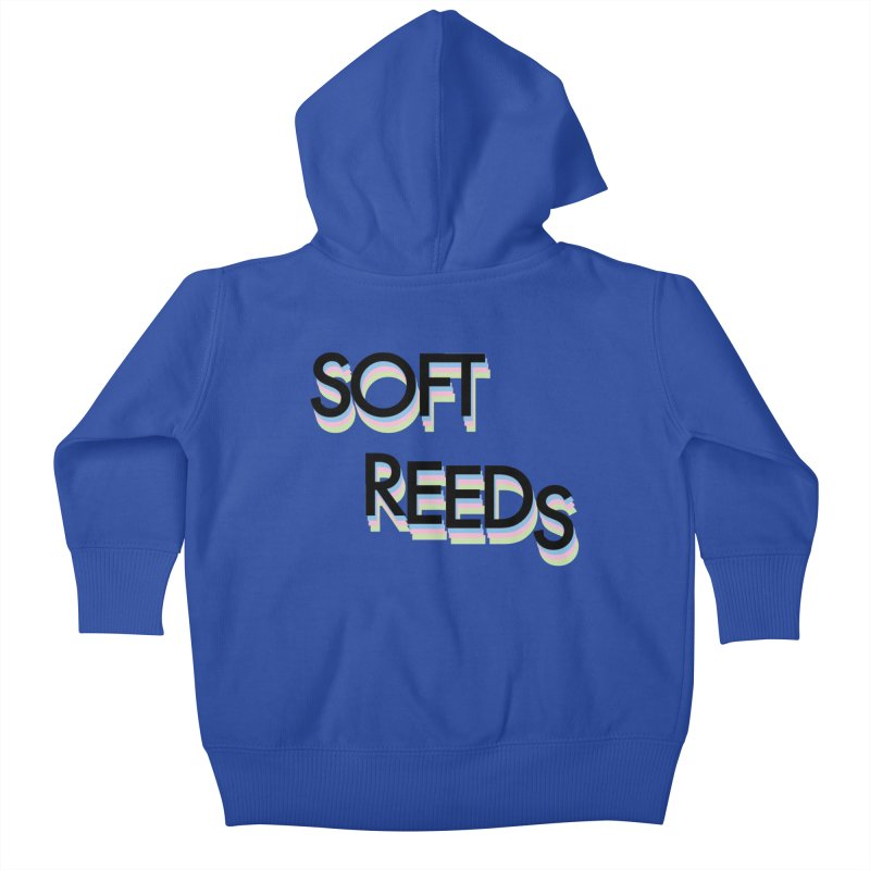 SOFT-5 Kids Baby Zip-Up Hoody by softreeds's Artist Shop