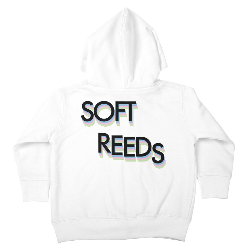 SOFT-5 Kids Toddler Zip-Up Hoody by softreeds's Artist Shop